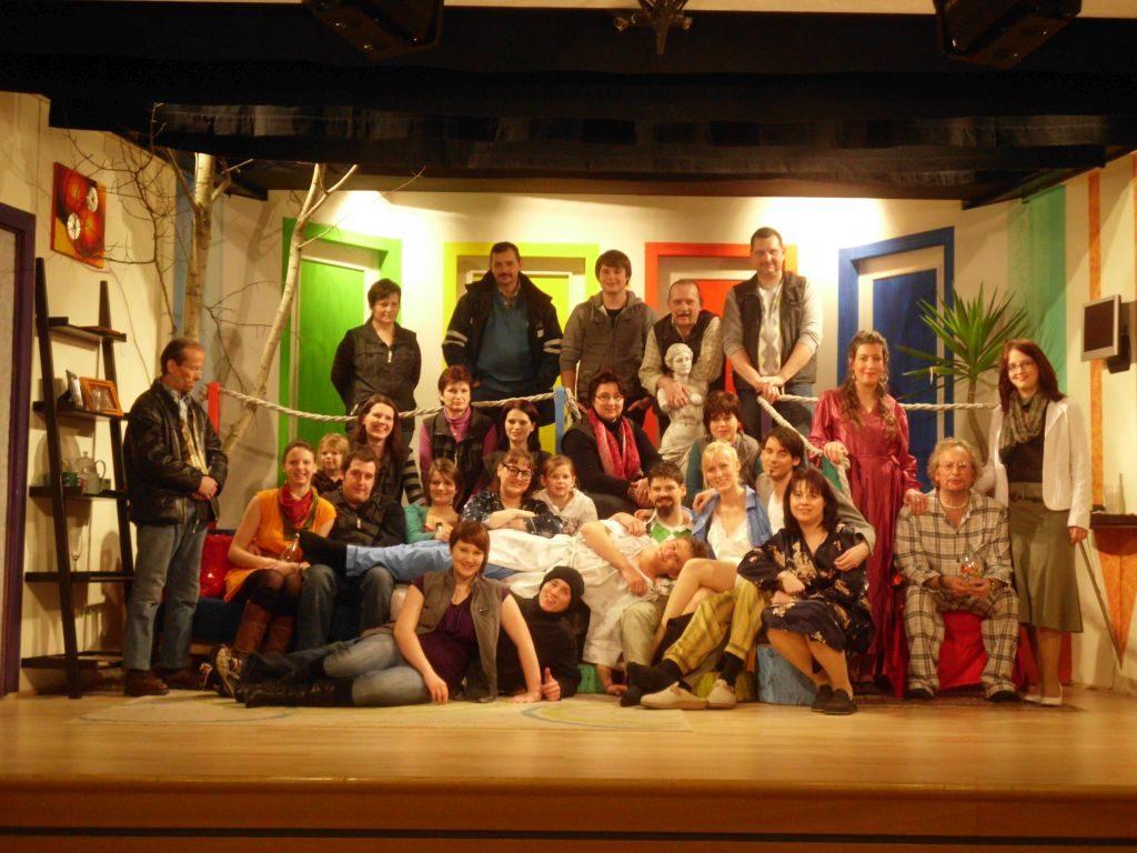 Aufruhr im Haus, Uproar in the house, Theater Schönau